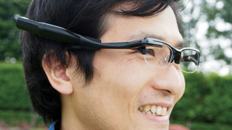 Illustration for article titled Olympus's Google Glasses Competitor Is Really Nothing Like Google Glasses