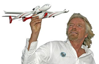Illustration for article titled Virgin Unveils New Spaceship