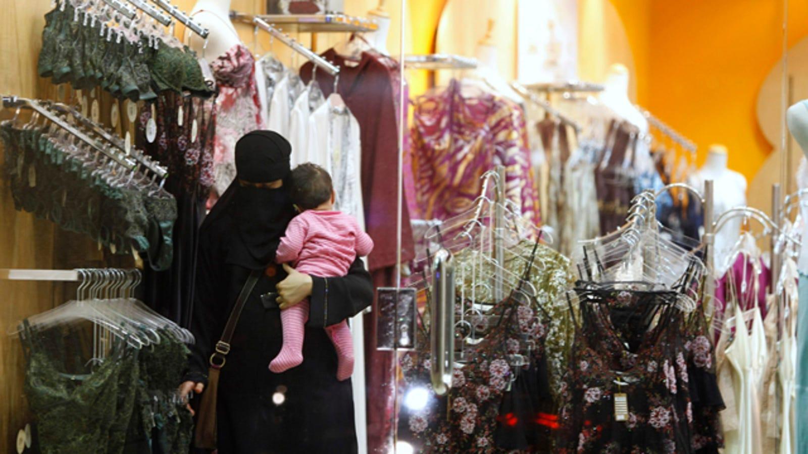 207a7164ce3bc Saudi Arabia Says Goodbye To Male Lingerie Salesmen