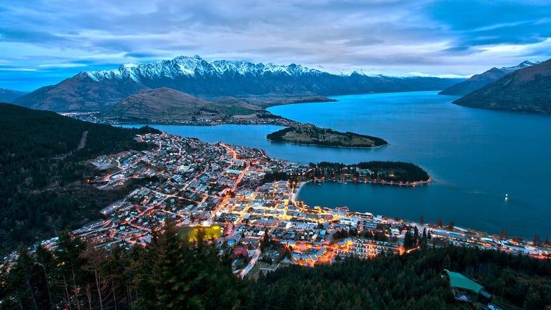 Queenstown, Nueva Zelanda. Imagen: Wikimedia Commons