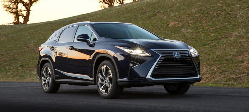 Illustration for article titled The 2016 Lexus RX Is Here To Take Your Kids To School Or Eat Them