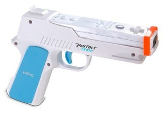 Illustration for article titled Nyko Perfect Shot Brings Namco Style Light Gun to the Wii