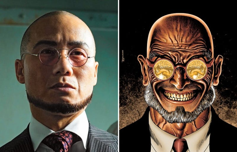 Illustration for article titled Gotham Reveals the Terrifying Chinstrap of B.D. Wong's Hugo Strange