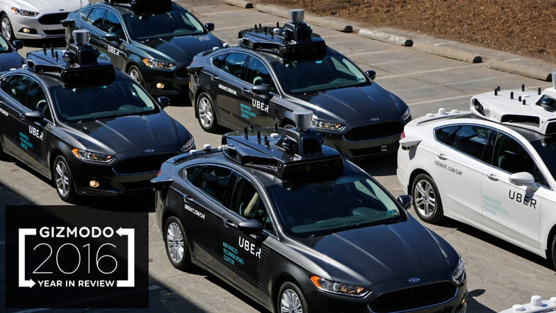 A fleet of self-driving Uber vehicles at Uber's Advanced Technologies Center in Pittsburgh. (Image: AP)