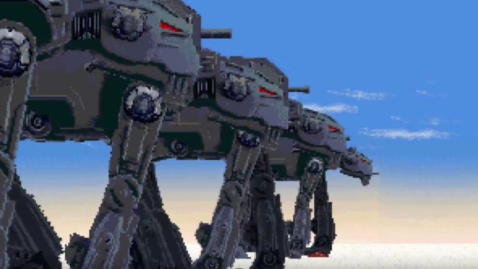 El final de Star Wars: The Last Jedi recreado en 16 bits es absolutamente perfecto