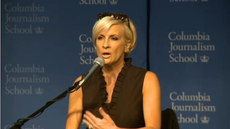 Illustration for article titled Mika Brzezinski Awesomely Gives Random Woman a Major Career Boost