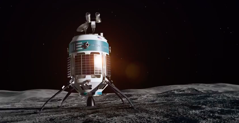 Private company unveils space vehicles to land on the moon