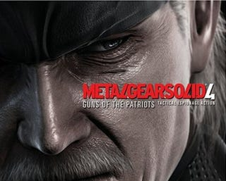 Illustration for article titled Frankenreview Metal Gear Solid 4: Guns Of The Patriots