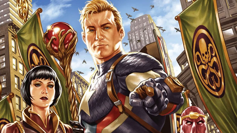 Image: Marvel Comics. Secret Empire Free Comic Book Day #1 cover art by Mark Brooks.