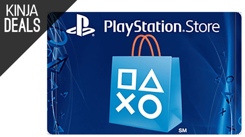 Illustration for article titled Save $10 on $100 Worth of PSN Gift Cards