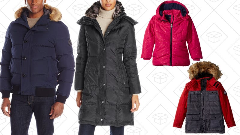 There Are Winter Coats for Everyone During Amazon's One-Day Sale