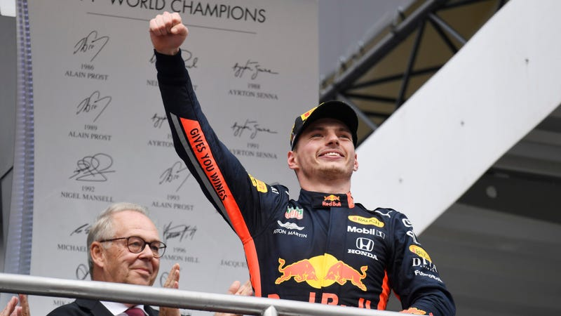 Illustration for article titled Verstappen Reaffirms He's The Future While Vettel Has Brilliant Comeback At German Grand Prix