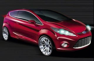 Illustration for article titled Ford Fiesta to Be Unveiled in Frankfurt