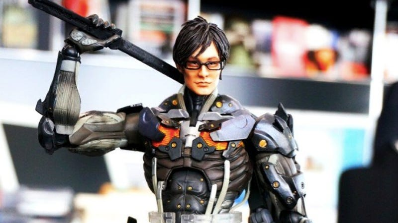 Illustration for article titled Square Enix Just Turned Hideo Kojima into a Raiden Toy