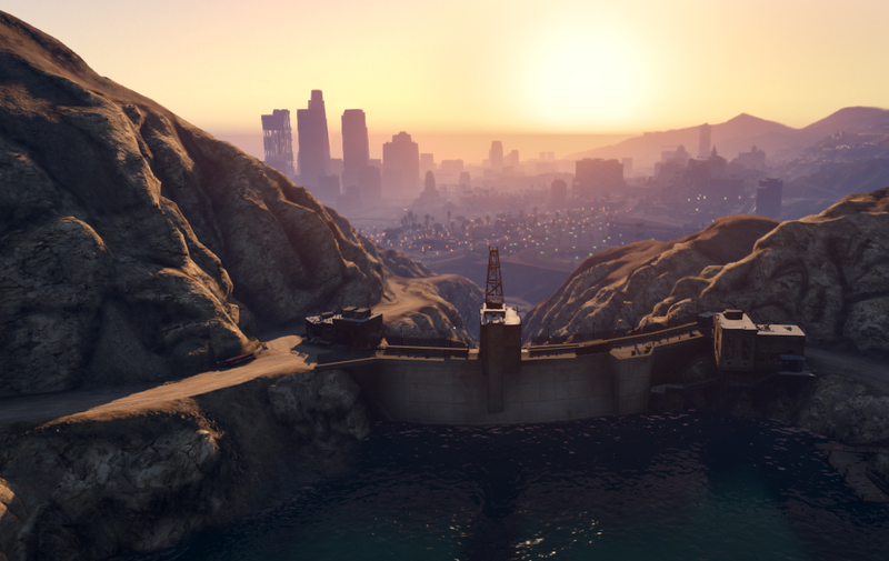Illustration for article titled GTA V Players Have Spent 2016 Trying To Destroy A Possibly Indestructible Dam