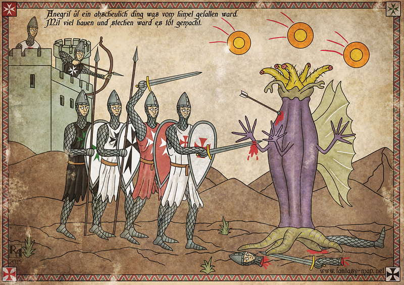 Illustration for article titled Lovecraft's Creatures Would Have Made Excellent Opponents For Europe's Crusaders