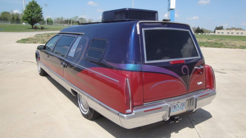 I Am Fascinated By This Cadillac Hearse You Can Sleep And Poop In
