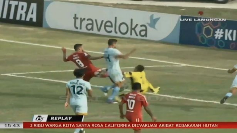 Indonesian goalkeeper dies after collision with teammate, opponent