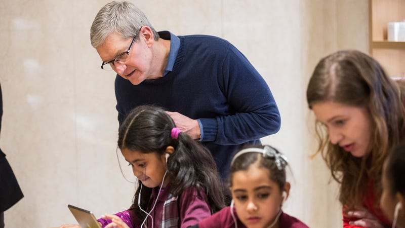 Illustration for article titled Apple Products Actually Really Great for Kids, Apple Says