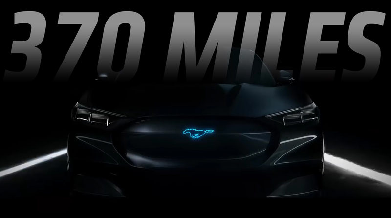 Illustration for article titled Ford's 'Mustang-Inspired' Electric SUV Will Have a 300 Mile Range [Corrected]