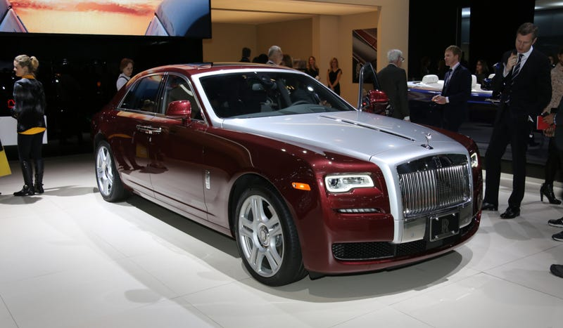 Illustration for article titled 2015 Rolls-Royce Ghost Series II Is A Business Tool's Business Tool