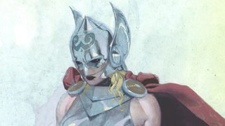 Illustration for article titled Marvel's new Thor is so worthy, she actually rewrites Mjolnir's oath