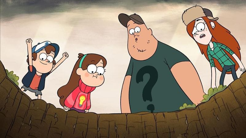 """Illustration for article titled Gravity Falls: """"Into The Bunker"""""""