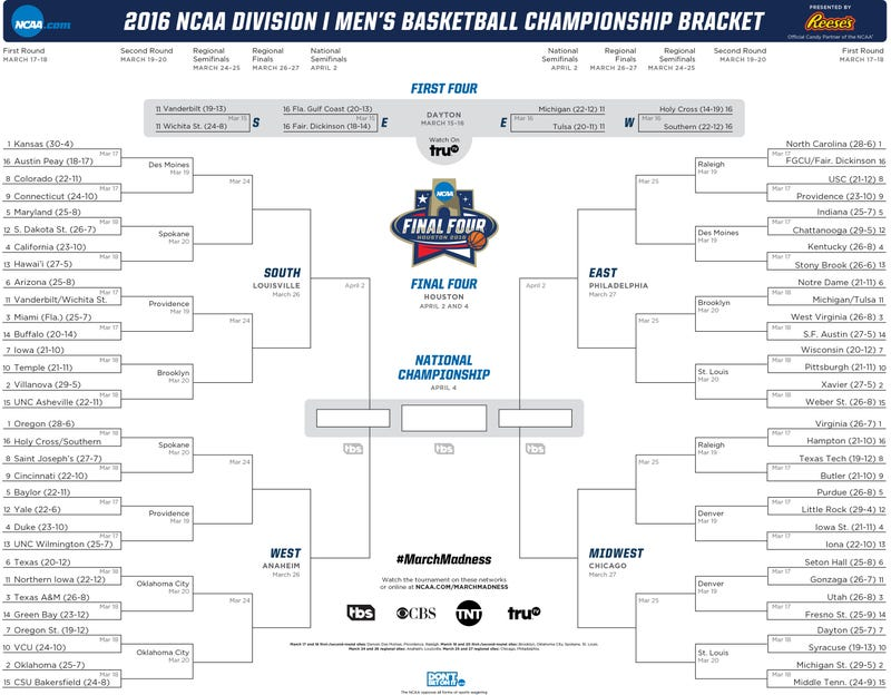 image relating to Printable March Madness Bracket named Obtain Your Printable NCAA Match Bracket Listed here