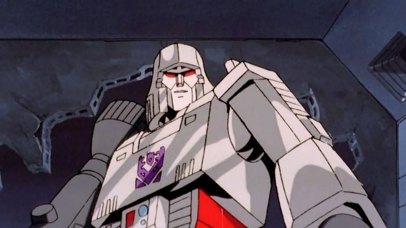 Megatron as he appeared in the beloved Transformers animated series.