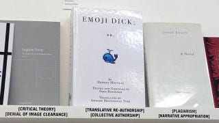 Illustration for article titled Emoji Dick, A Novel Translated into Emoji, Accepted by Library of Congress