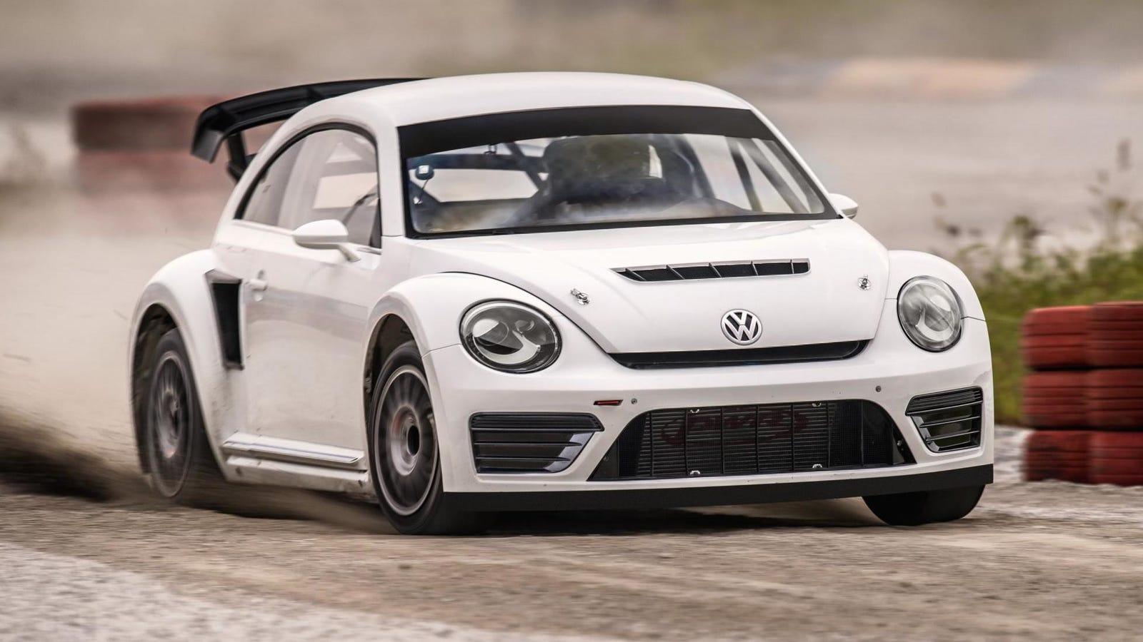 Volkswagen's New Rallycross Beetle Is Badass