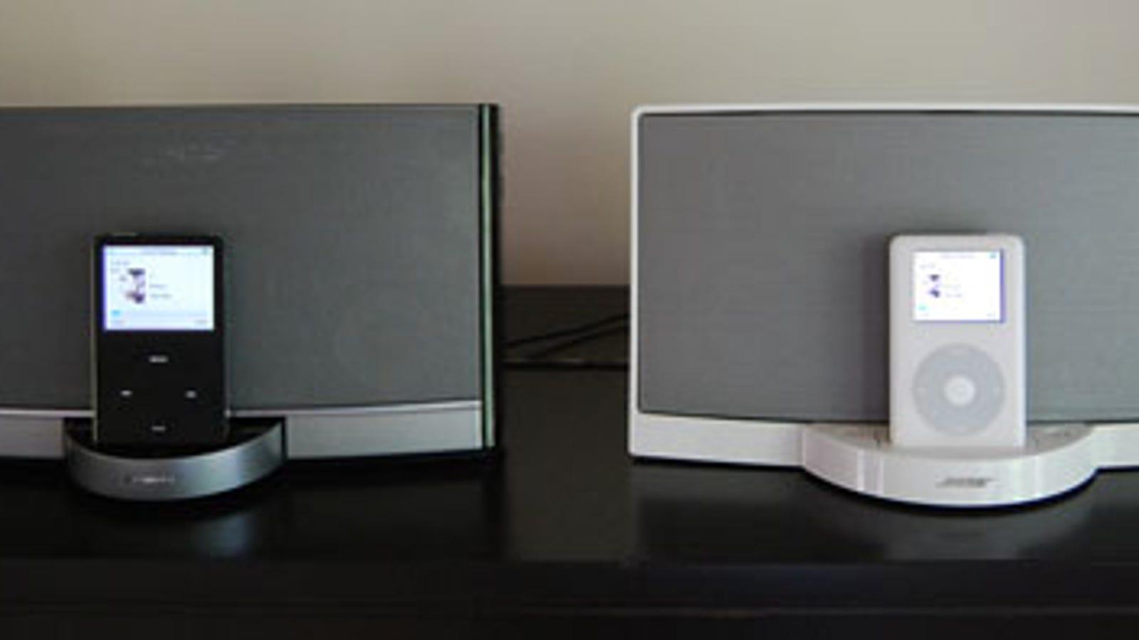 Sizemodo and Sound Check: New Bose SoundDock Portable vs