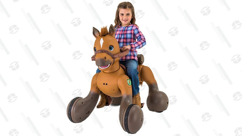 Kid Trax 12-Volt Rideamals Scout Pony Interactive Ride-On | $298 | Walmart
