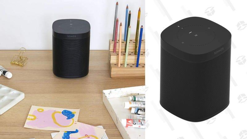 Sonos One (2nd Generation) + $50 Amazon.com Gift Card   $180   Amazon