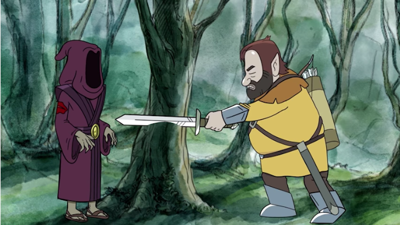 Illustration for article titled Dan Harmon's RPG Adventures Get Animated in a New HarmonQuest Trailer