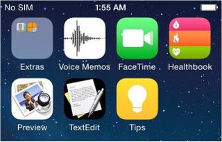 Illustration for article titled Así podría ser iOS 8, con nuevas apps de salud