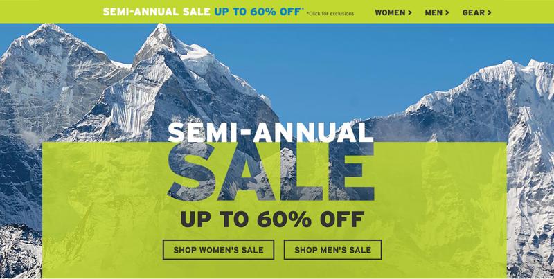 Eddie Bauer Semi-Annual Sale
