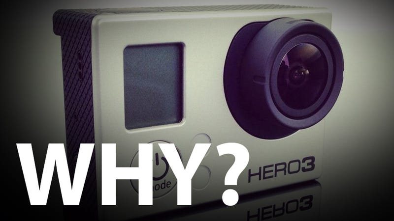 Illustration for article titled The GoPro Hero3's 4K Resolution Is Wonderfully Useless
