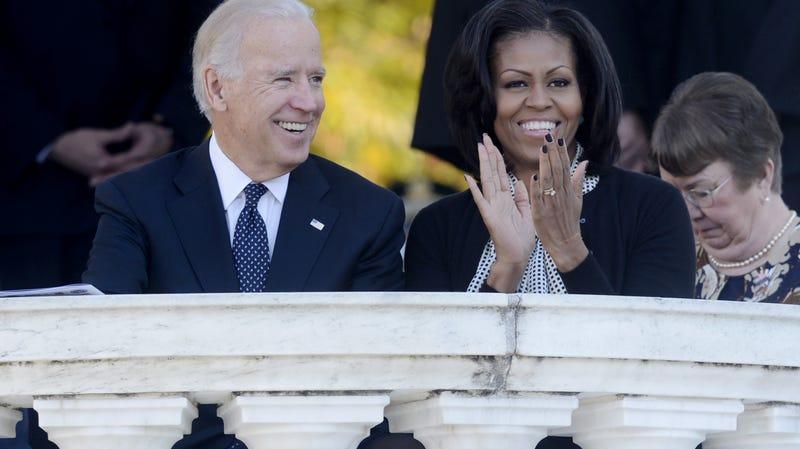 Illustration for article titled Michelle Obama Won't Endorse Joe Biden (Yet)