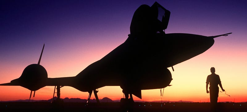 Illustration for article titled The SR-71 Blackbird Retired By Flying Coast-To-Coast In One Hour