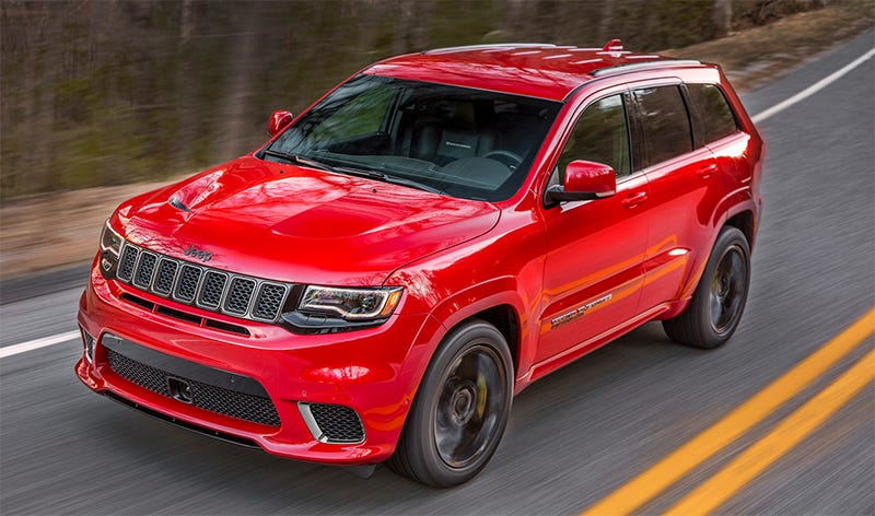 The Hellcatpowered 2018 Jeep Trackhawk Is Quicker 060 Than
