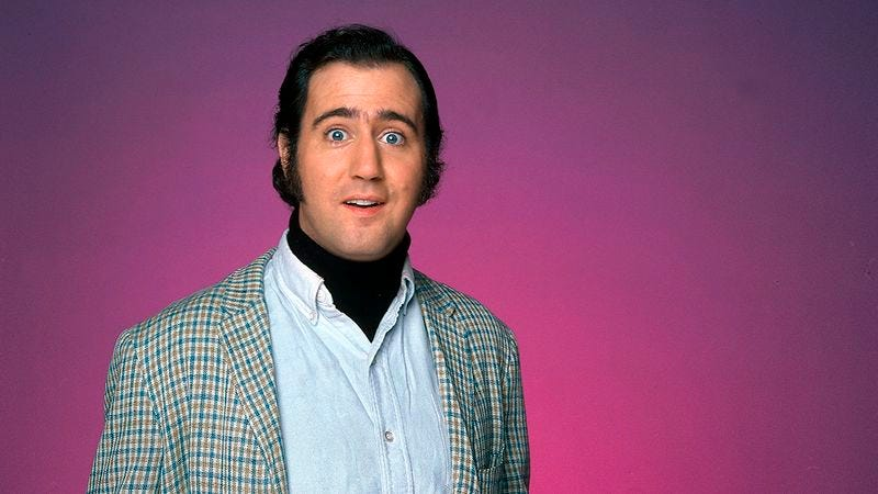 Illustration for article titled Andy Kaufman Is Still Alive, Unless He Was The Guy I Hit With My Car Last Night