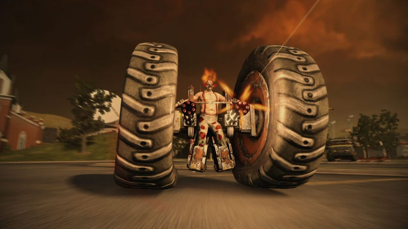 Illustration for article titled Twisted Metal Hands-on, or How I Learned to Stop Worrying and Love 'Nuke' Mode