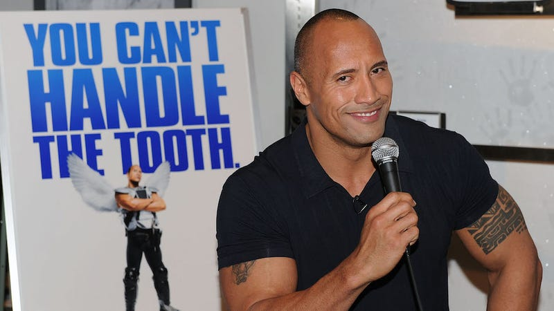 Illustration for article titled I'm Pretty Sure Most Straight Men Would Have Sex with The Rock