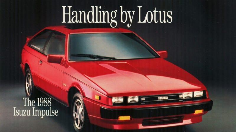 Forgotten Cars: The Isuzu Piazza/Impulse Was An Ace Turbo ...
