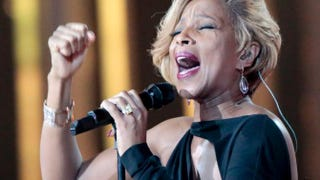 Mary J. Blige DANIEL SANNUM LAUTEN/AFP/Getty Images