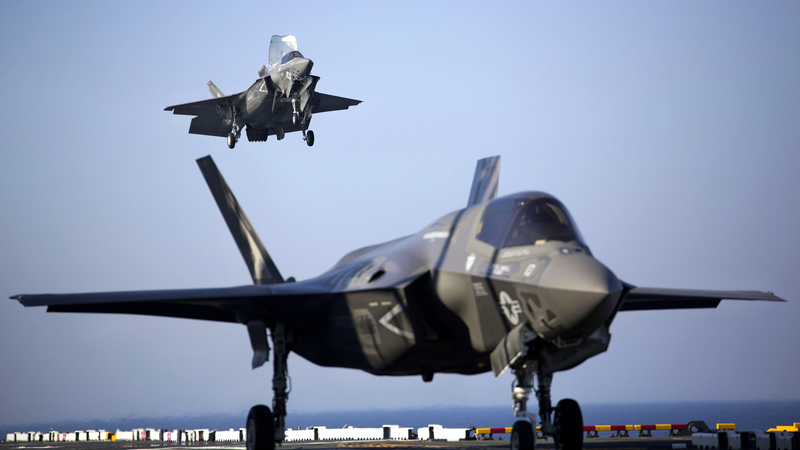 Illustration for article titled Marines F-35B Joint Strike Fighters Begin Operational Testing