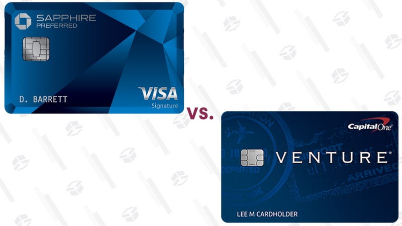 Chase Sapphire Preferred CardCapital One Venture Rewards Credit Card