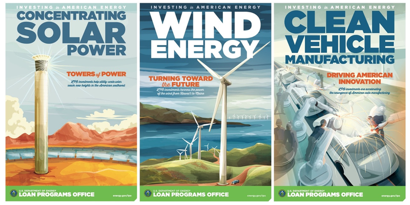 Illustration for article titled The Future of Energy Looks Beautiful in These New Deal-Style Posters