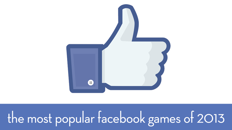 Illustration for article titled 2013 Was A Very Good Year For Facebook Gaming